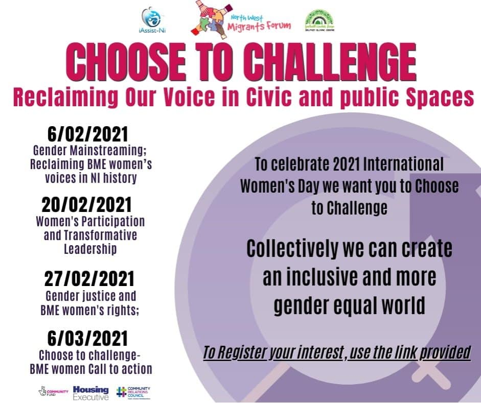 Choose To Challenge 2021