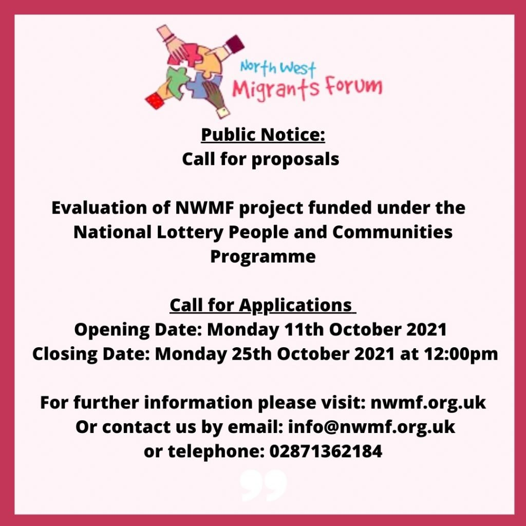 Call For Proposals NWMF Oct 2021